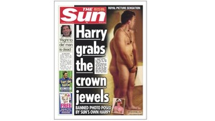 The Sun Prince Harry naked pictures