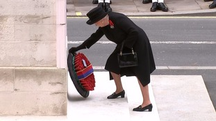 Queen leads Remembrance Sunday tributes