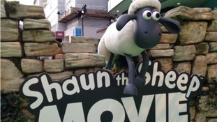 Shaun the Sheep has been nominated for a Golden Globe