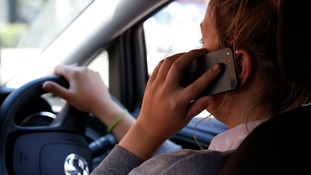 Penalty points will rise for drivers caught using their mobile phones