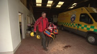 Dartmoor Search and Rescue teams are helping some of the victims of flooding in York.