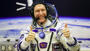 Tim Peake arrived on 15 December to begin a six-month mission on the complex.