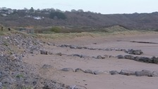 The beach at Porthcawl
