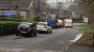 A 60-year-old woman was found dead at a house in Helmshore on Friday, January 15