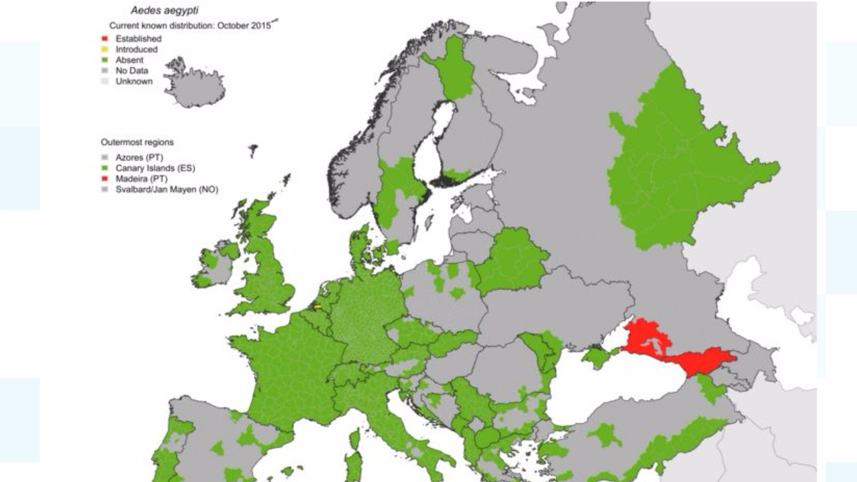 zika in europe map European countries could be at risk from Zika   ITV News