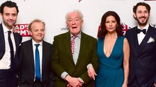 The cast of the new Dad's Army film
