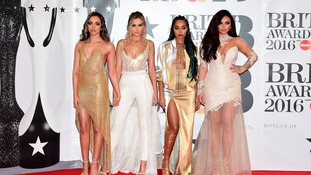 Little Mix at last night's Brit Awards.