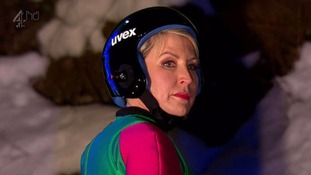 Heather Mills is the latest person to join The Jump's long injury list