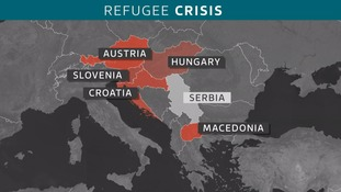 Austria's border controls are causing a huge backlog in refugees down the migration trail