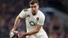 George Ford during England's victory over Ireland at Twickenham.
