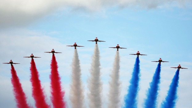 Red Arrows unveil line up for 2013 | Central - ITV News