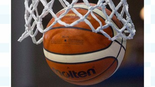Basketball in the net