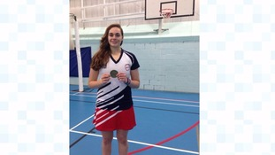 Faye Bateson brought a gold medal home from the Indoor Netball Age World Series in Australia last year.