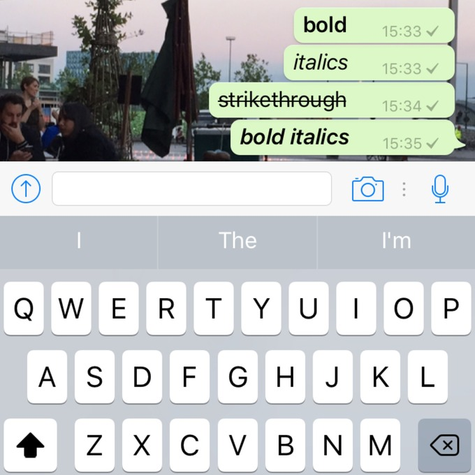 Heres How To Bold Italicise And Strikethrough Text In Whatsapp