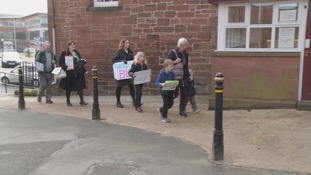 Campaigners are fighting to save Sunday and evening bus services.