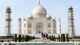 Royal tour day seven: William and Kate visit Taj Mahal