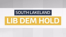 The Liberal Democrats have retained control of South Lakeland District Council
