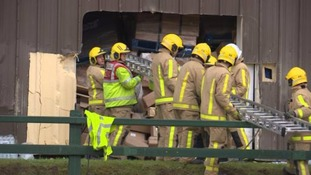 Worker trapped for 8 hours after warehouse collapse