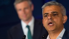 Sadiq Khan wrote that the Conservatives ran an 'appalling' campaign