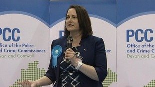 Alison Hernandez was elected police and crime commissioner for Devon and Cornwall Police on Thursday