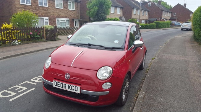 ebay seller puts the fiat 500 which has 'ruined her life' up for