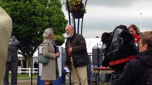 President Michaeal Eavis opened the show